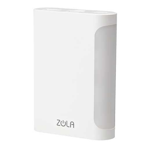 Powerbank ZOLA Corona 6000 mAh Fast Charge 2.1A Dual Output Lampu LED