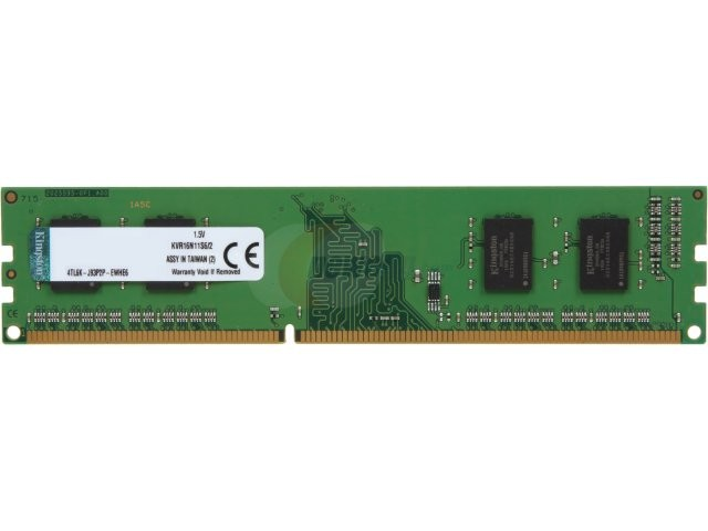 Kingston KVR DDR3 1600MHz (PC12800) 2GB (KVR16N11S6/2)