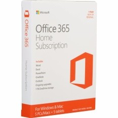 Office 365 Home English APAC EM Subscription 1YR Medialess P2 [6GQ-00757]