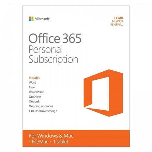 Office 365 Personal English APAC EM Subscription 1YR Medialess P2 [QQ2-00570]