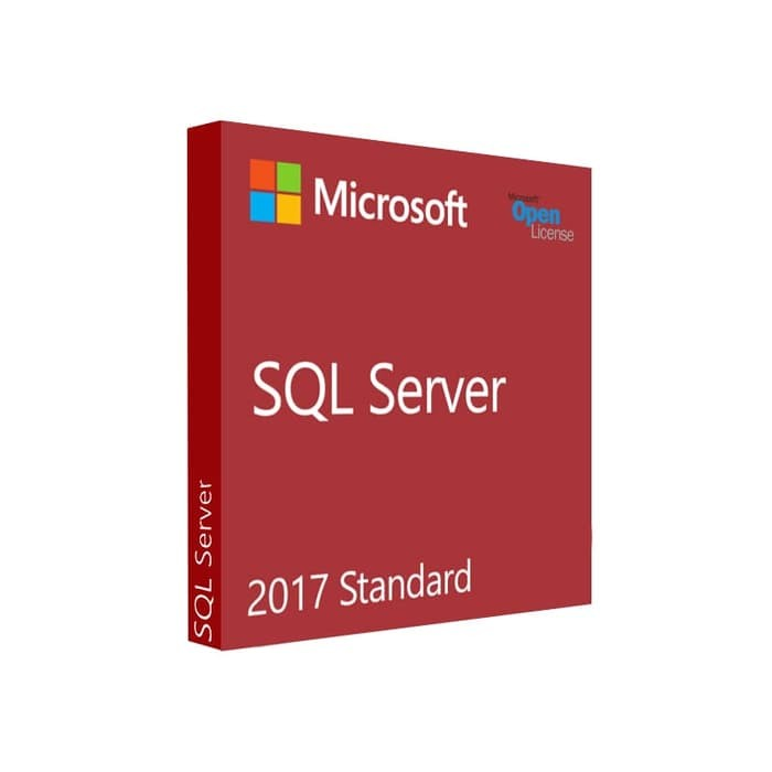 Microsoft® SQL Server Standard Edition 2017 English DVD 10 Client - 228-11033
