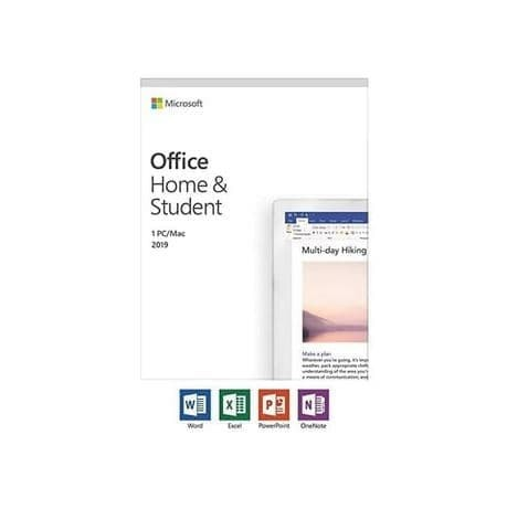 Office Home and Student 2019 English APAC EM Medialess - 79G-05066