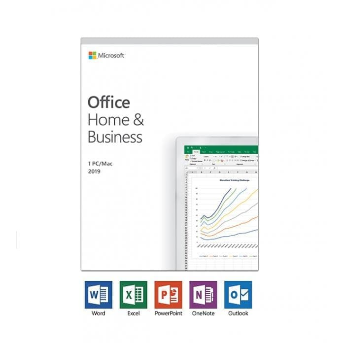 Office Home and Business 2019 English APAC EM Medialess - T5D-03249