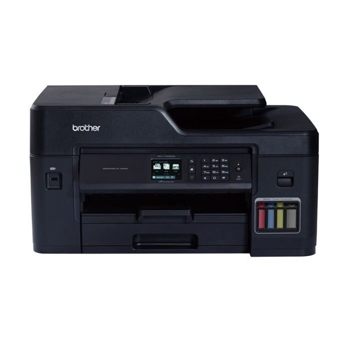 Brother MFC-T4500DW A3 Inktank Wireless Multi-Function Printer - Copy - Scan - Fax with Automatic Duplex