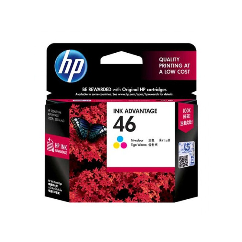 Cartridge HP Ink Advantage 46 Tri Color