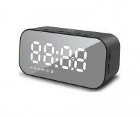 Speaker Bluetooth JETE S2 High Stereo Sound with Double Alarm Clock