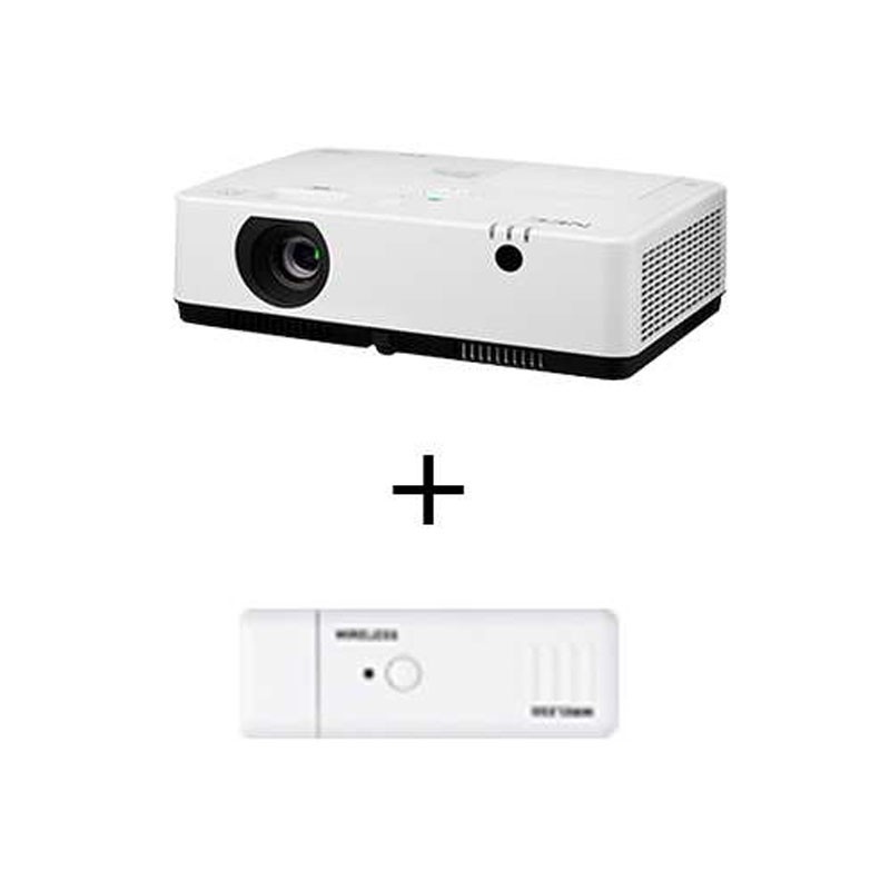 Projector NEC MC372X dan Wireless Dongle NP05LM5