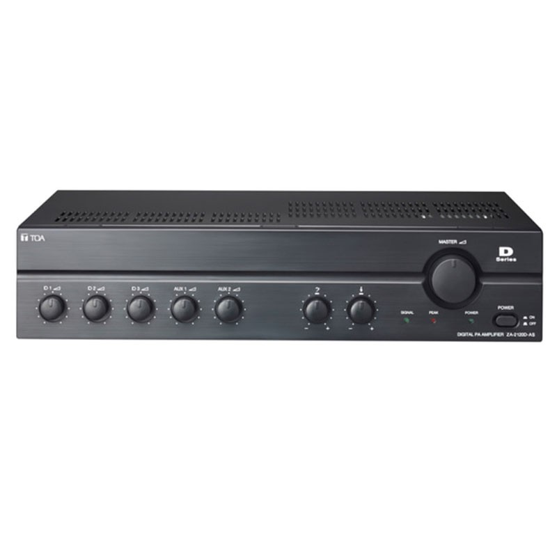 Mixer Amplifier 120W TOA ZA-2120 D (AC/Digital)