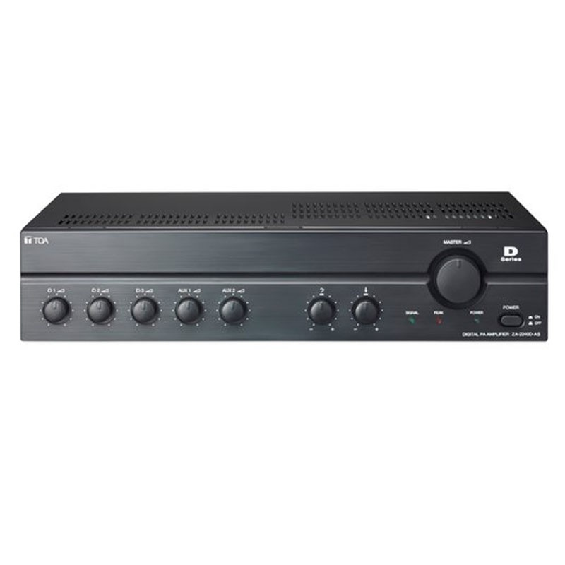 Mixer Amplifier 240W TOA ZA-2240 D (AC/Digital)